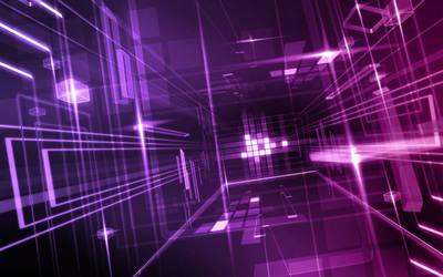 Purple Glass Wallpaper by dAKirby309
