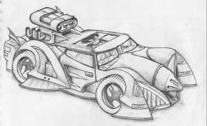 Batmobile by Aeon2