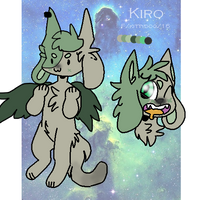 Kiro reference sheet by NataliaWolf2004