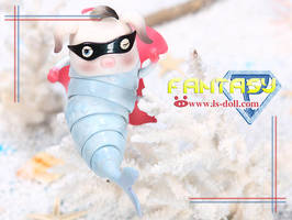 Loong soul doll Piggy fish Zhu Beibei by LoongSoul