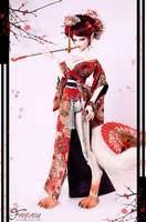 Loong soul doll - Fox - MeiJi Limited(80sets) by LoongSoul