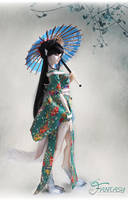 Loong soul doll- Fox - QingLi Limited(80sets) by LoongSoul