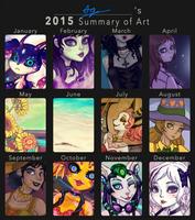 2015 Summary of Art by Ag-Cat