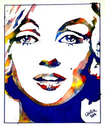 Marilyn Monroe - My Pop Art Version by UtiliaMignano