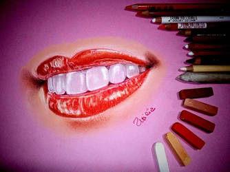 kiSS - Exercise Soft pastel by UtiliaMignano