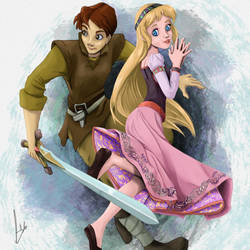 The Lost Princess Eilonwy by LEOstrious