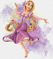 Rapunzel! by LEOstrious