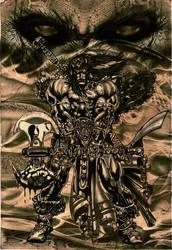 Conan the Barbarian by akoyma