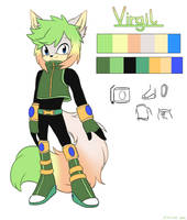 Virgil the wolf by Kiiro-nee-san