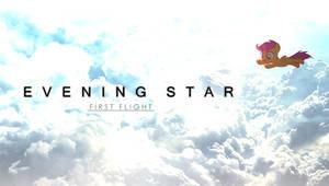 Evening Star - First Flight by PonyEveningStar