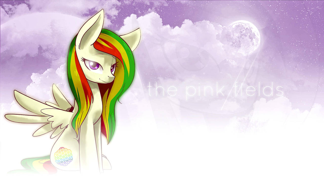 The Pink Fields by PonyEveningStar