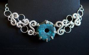 Turquoise Choker by melissamyth