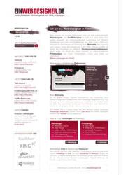 Einwebdesigner Portfolio by creatticon