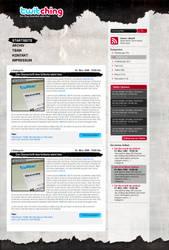 Twitching Blog Design by creatticon