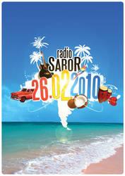 Radio Sabor Party Event Flyer by creatticon