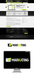 Online Marketing Website by creatticon