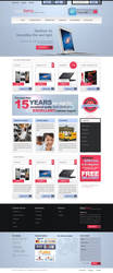 Blueberry eCommerce Template by creatticon