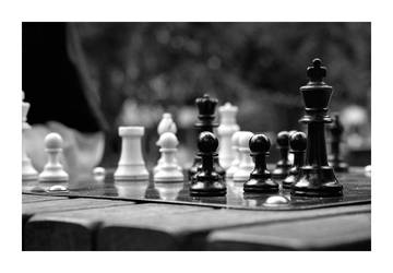 Chess In The Park by Oztographer