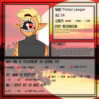 Tristan Relationship Form by Jay-and-Kos