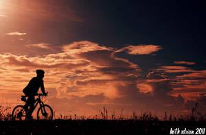 Morning Cycling by Saladholic