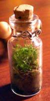 Moss Necklace by Nashoba-Hostina