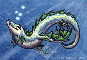Elemental Dragon: Water by Nashoba-Hostina