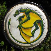 Tiny Dragon Djembe by Nashoba-Hostina