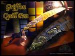 Griffon Quill Pen by Nashoba-Hostina