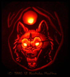 Lycanthrope Jack O' Lantern by Nashoba-Hostina