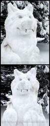 Snow Werewolf by Nashoba-Hostina