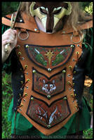 Leather Elemental Armor by Nashoba-Hostina