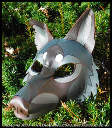 Shade Leather Mask by Nashoba-Hostina