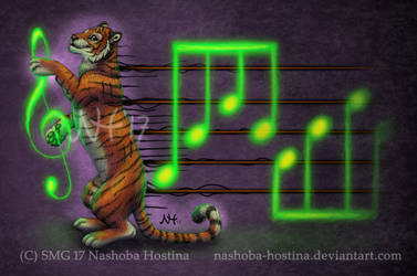 Play the Tiger's Stripes by Nashoba-Hostina