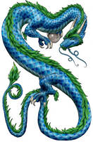 Asian Dragon by Nashoba-Hostina
