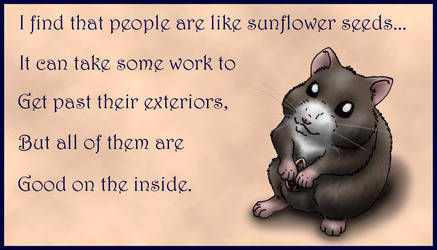 Hamster Wisdom 1 by Nashoba-Hostina