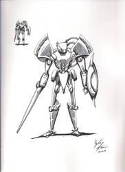The White Knight by Kolotation