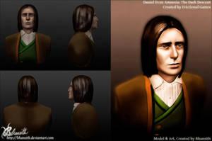 Daniel in Sculptris by Bhansith
