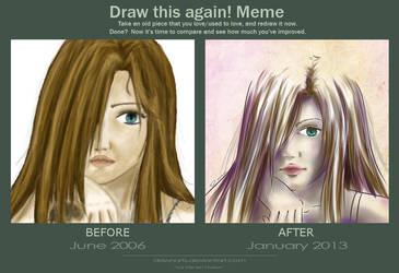 Draw it again! Meme by DawnArts