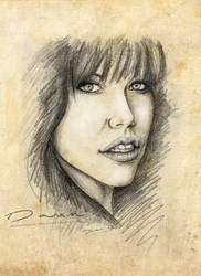 Carly Rae Jepsen Portrait -Texture- by DawnArts