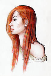 Portrait of me by DawnArts