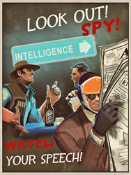 Look out! RED SPY! by Shadowarr