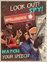 Look out! BLU SPY! by Shadowarr