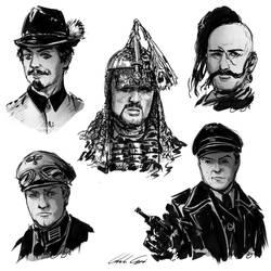 Polish Movie Study Character Fanart by Nati13321