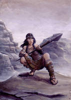 Pictish Girl by samuelcroes