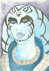 Watercolour Tiargeth by Adre-es