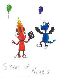 5 Year of Mixels by Luiskoa64