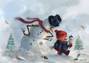 Let It Snow by stevegoad