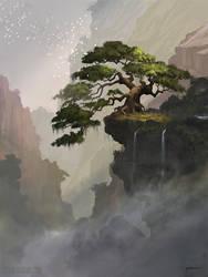 Fantasy Tree by stevegoad