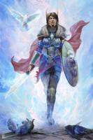 Woman of Faith by stevegoad