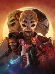 Mass Effect Descencion by stevegoad